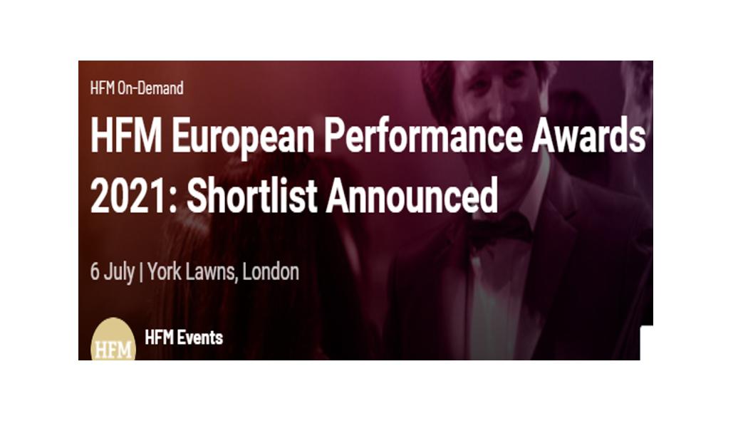 6 nomineringer til HFM European Performance Award 2021