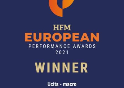 Award Winner ved HFM European Performance Awards 2021