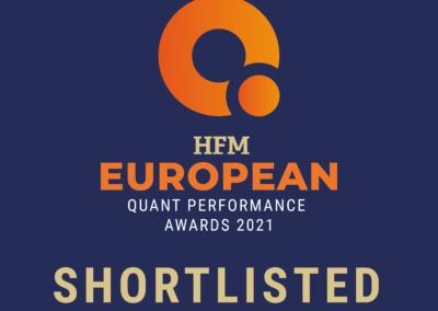 Othania Invest er nomineret til HFM European Quant Award 2021